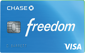 Chase Freedom Cash Back Credit Card Review Creditfast 174