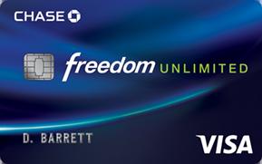 la liberté Chase transfert de solde illimité